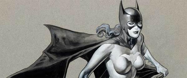 Kevin Nowlan - Batgirl Original Art