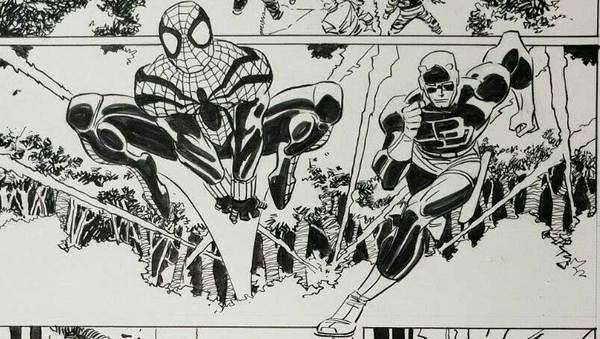 John Romita Jr - Spider-Man Original Comic Art