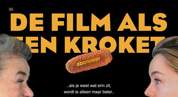 De Film als een Kroket
