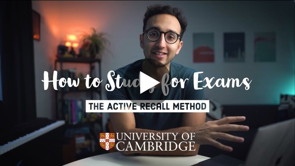 How to rank 1st at Medical School - The Active Recall Framework