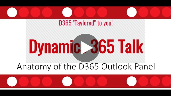 Anatomy of the Dynamics 365 for Outlook App
