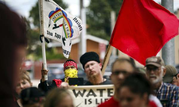 Keystone XL: police discussed stopping anti-pipeline activists 'by any means'