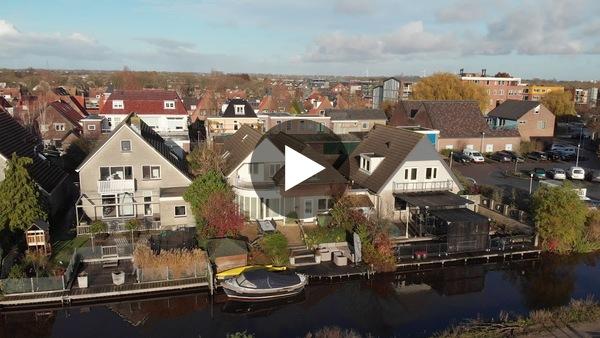 ROELOFARENDSVEEN - Voortgang bouw woningen Westend Roelofarendsveen (dronevideo, 2 december geupload)