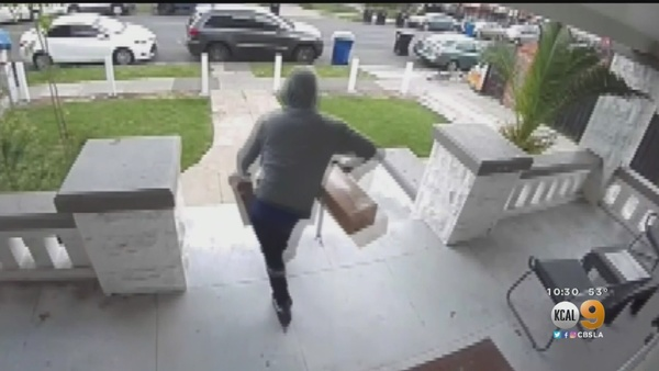 California Has The Worst Porch Theft Problem In America – News, Sports, Weather, Traffic and the Best of LA/OC