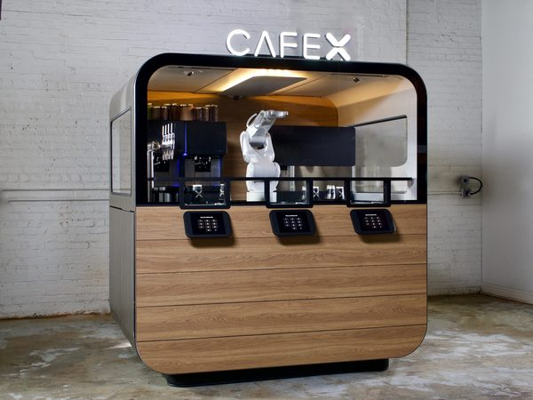 Cafe X Opens New Version of its Robot Barista in San Jose Airport
