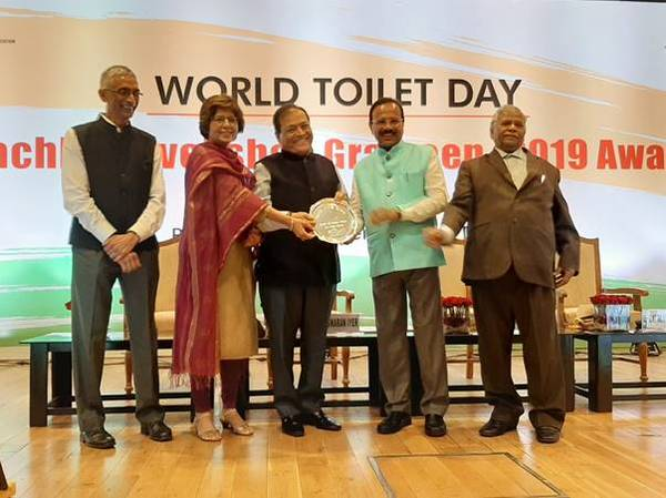 Cement Manufacturers Association awarded by Indian govt for its national efforts on single-use plastic waste management