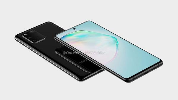'Midrange smartphone Samsung Galaxy A91 te zien op renders'