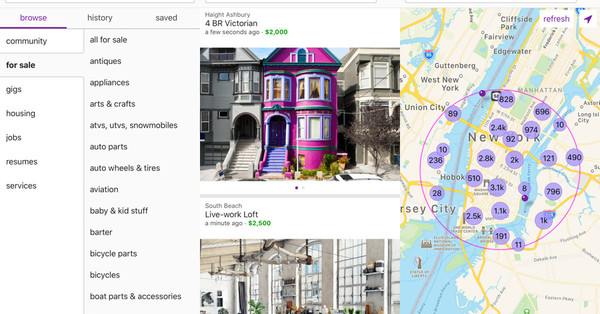 Craigslist, founded 24 years ago, is finally getting its first official app
