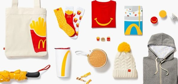 McDonald's caters to devotees with 1st permanent e-commerce shop