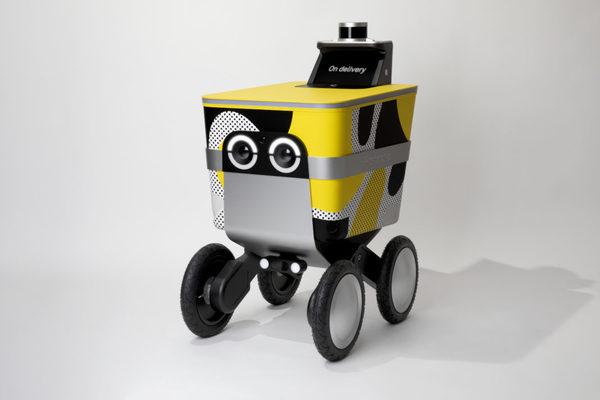 Postmates' Serve Robot Spotted (and Filmed) Making Deliveries in LA