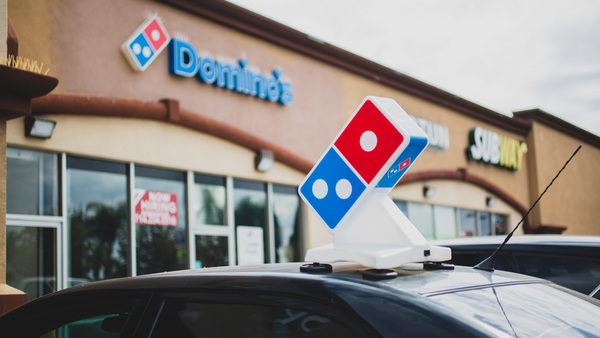 Domino's Expands GPS Tracking Tech Across U.S. Stores