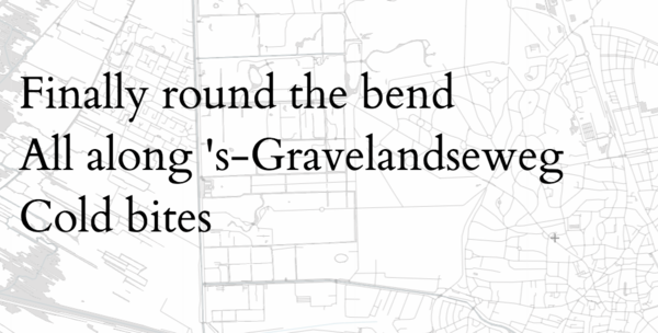 OpenStreetMap Haiku:Using OSM and Overpass for generative poetry