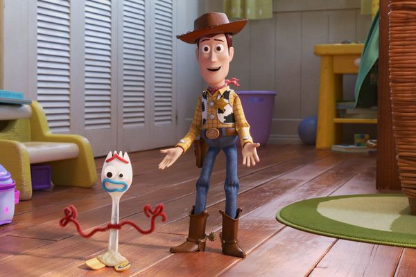 Pictured: More like Toy Story Forky, amirite? Guys?