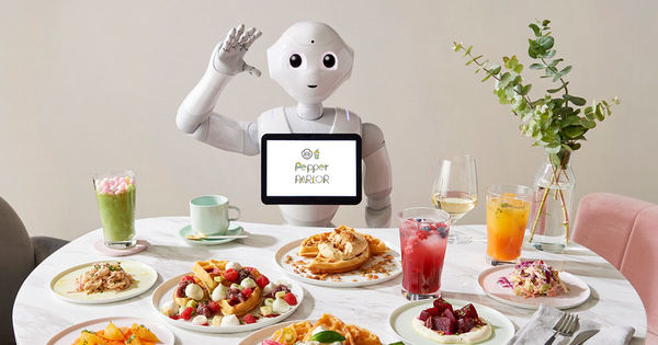 Cafe staffed by robots opens in Japan