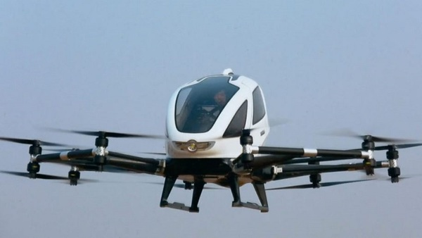 Chinese drone maker EHang lists on Nasdaq