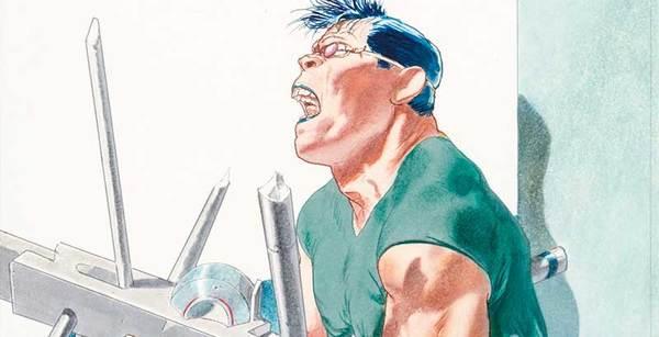 Tanino Liberatore - Ranxerox Original Illustration