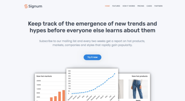Signum | Learn about new trends before everyone else