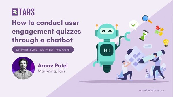 How To Conduct User Engagement Quizzes Through A Chatbot