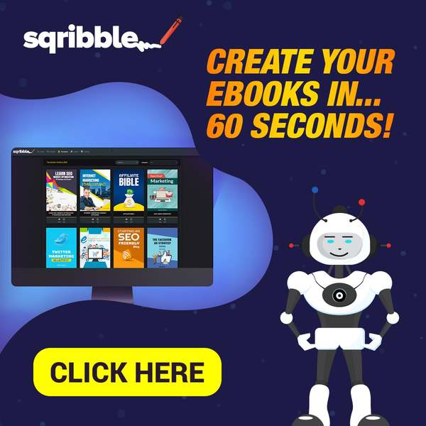 Sqribble—Create eBooks & Reports In Minutes