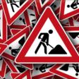 Gehele wegafsluiting in Leimuiden