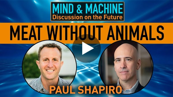 Clean Meat: Lab Grown Meat Without Animals Will Revolutionize the World with Paul Shapiro