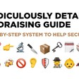 A Ridiculously Detailed Fundraising Guide