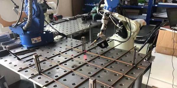 AI-equipped robots active in precision welding