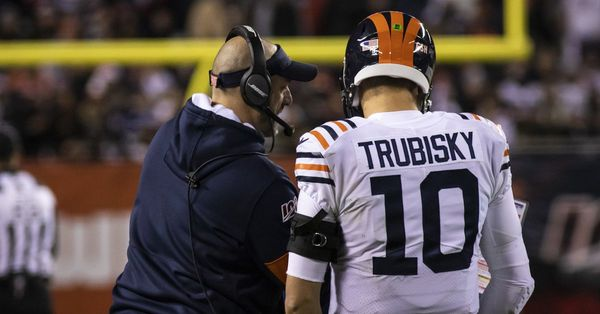 Bears' Nagy and Trubisky are being themselves, and that's the problem
