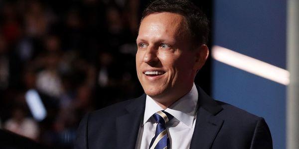 Peter Thiel at Center of Facebook's Internal Divisions on Politics