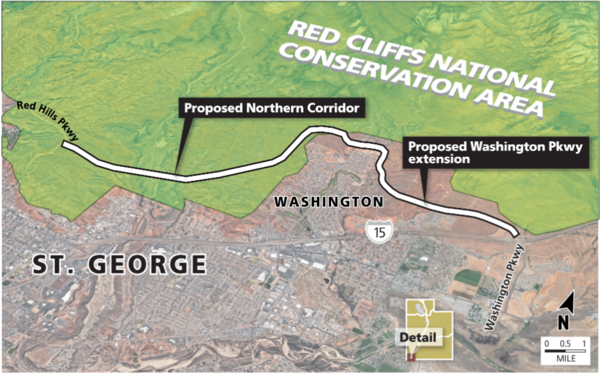 Feds may let major highway cut across southern Utah tortoise preserve
