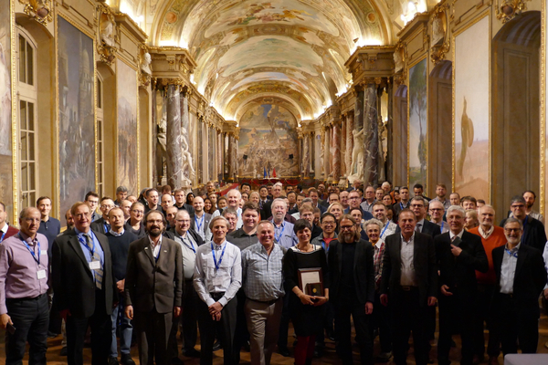 "OGC members at the Reception Hall ""Les Illustres"" at the Capitole de Toulouse"