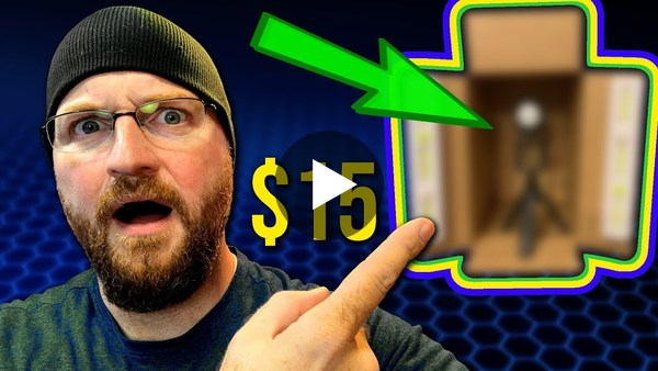 Building a YouTube Studio for $15?!