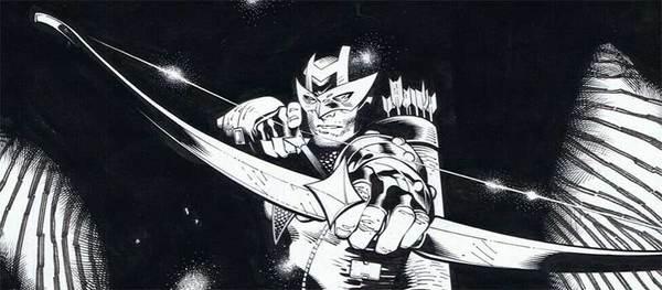Olivier Coipel - Hawkman Original Comic Art