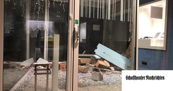 Bancomat-Knacker in Schaffhausen und St. Gallen: Polizei prüft Zusammenhang