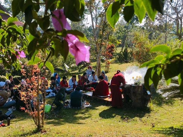 Tulku Migmar Tsering in Vietnam