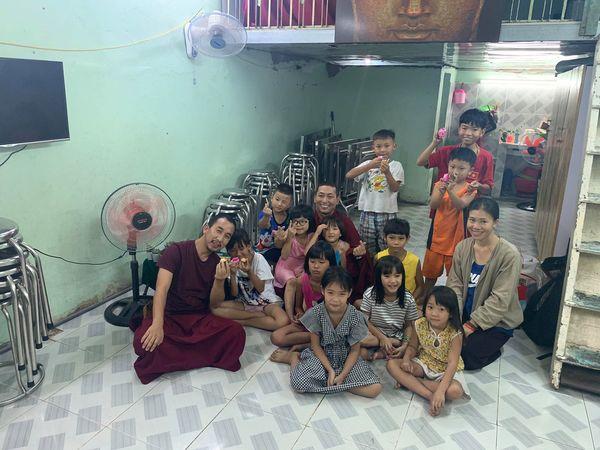 Tulku Migmar Tsering visiting The Charity Class