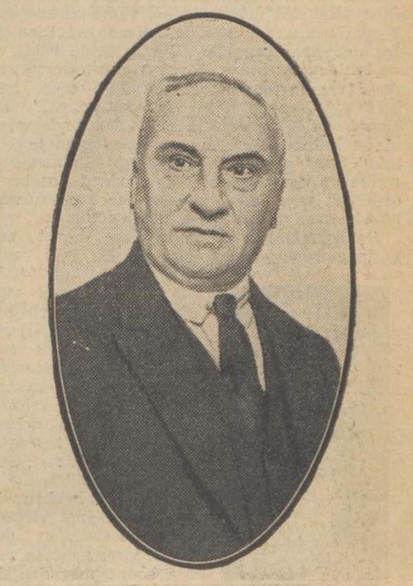 J.H. Weijns als 70-jarige (bron: Algemeen Dagblad)