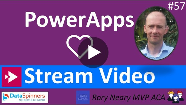 PowerApps Stream Video Integration