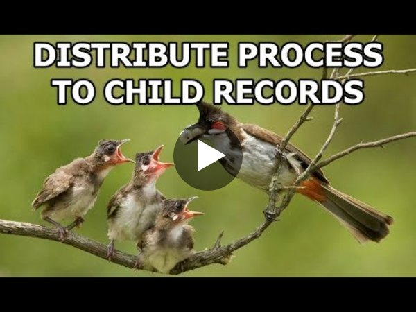 Dynamics 365 2MT Episode 101: DISTRIBUTE FLOW TO CHILD RECORDS
