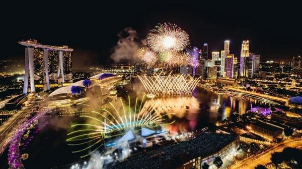 Ring in the new year at Marina Bay with the largest drone performance in Singapore