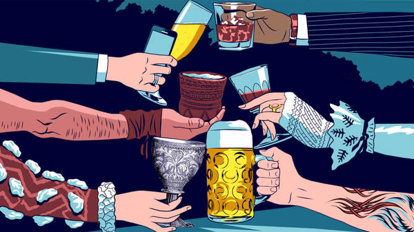 Why drink is the secret to humanity's success
