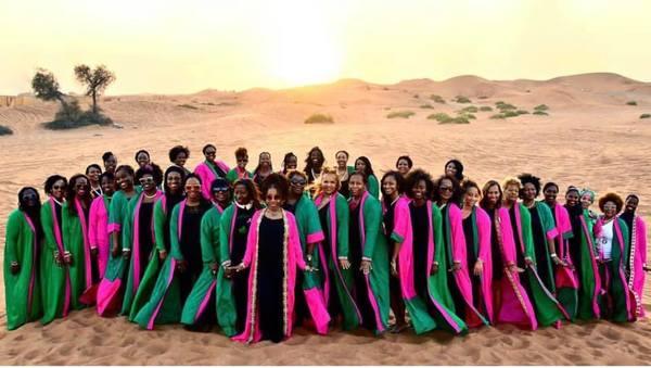 Global Sisterhood! 18 Times Black Women Showed Sorority Love Around the World