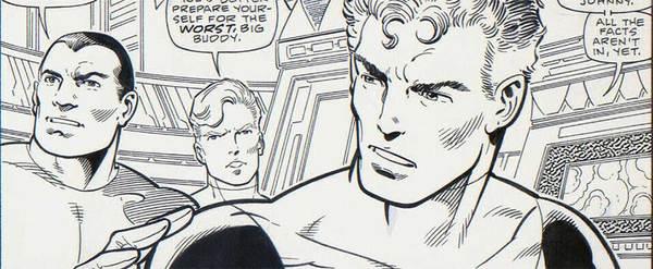 John Byrne - Fantastic Four Original Comic Art
