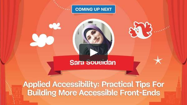 Applied Accessibility, by Sara Soueidan