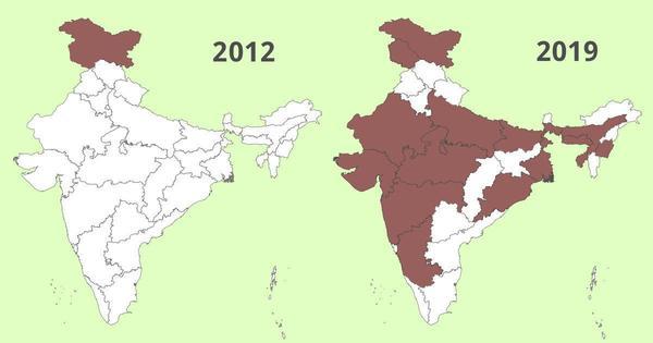 Das Jahr, in dem in Indien die Internet-Sperren drastisch zunahmen
