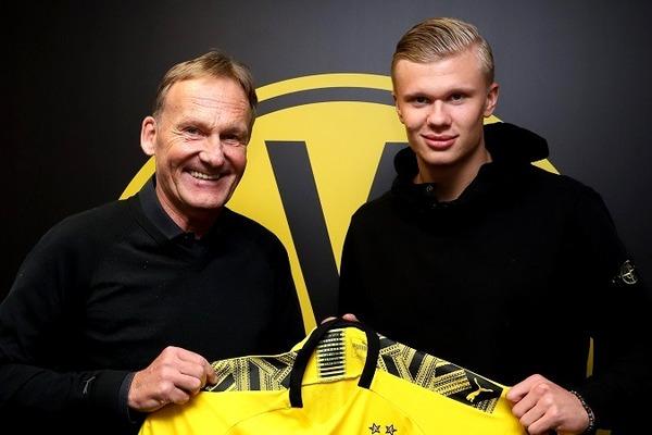 Erling Braut Håland za 20 milionów euro przechodzi do Borussii Dortmund