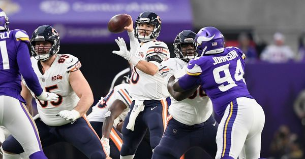 Even against backups, Bears QB Mitch Trubisky was who he has been all along