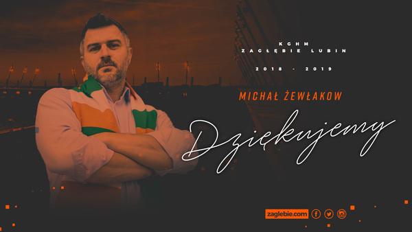 Michał Żewłakow odchodzi z Zagłębia Lubin
