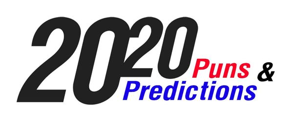 20 Puns & 20 Predictions for 2020