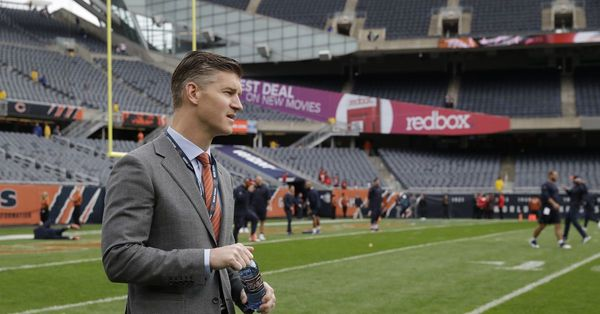 Bears GM Ryan Pace can't see clearly when it comes to QB Mitch Trubisky